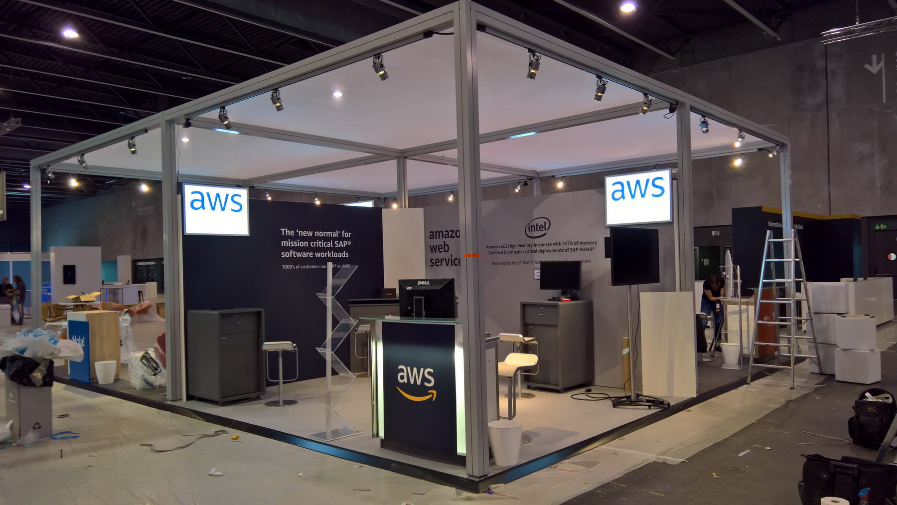 stand AMAZON WEB SERVICES DOCKERCON