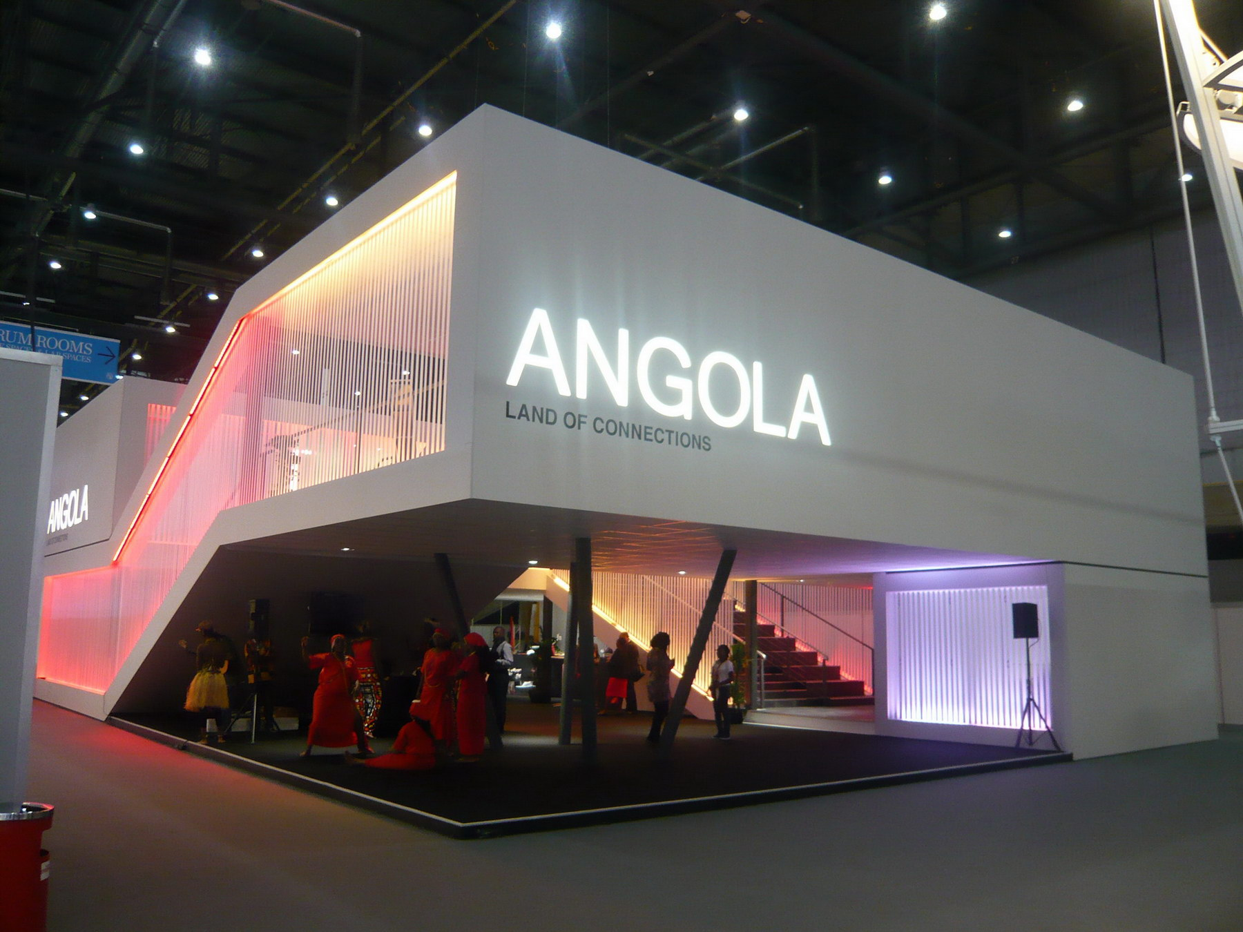 stand ANGOLA Land of Connections ITU 2011