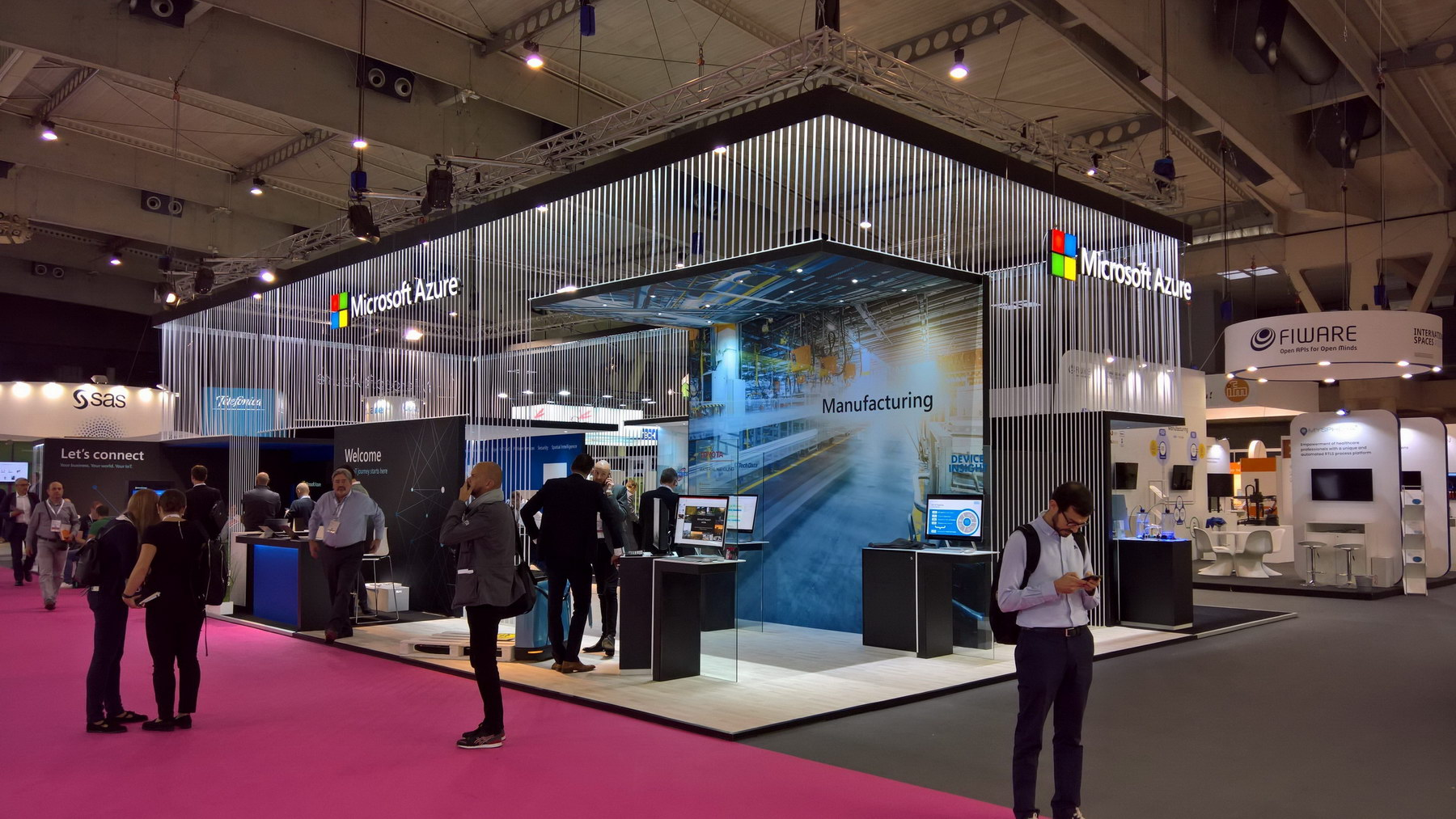 Stand MICROSOFT IOT_2018