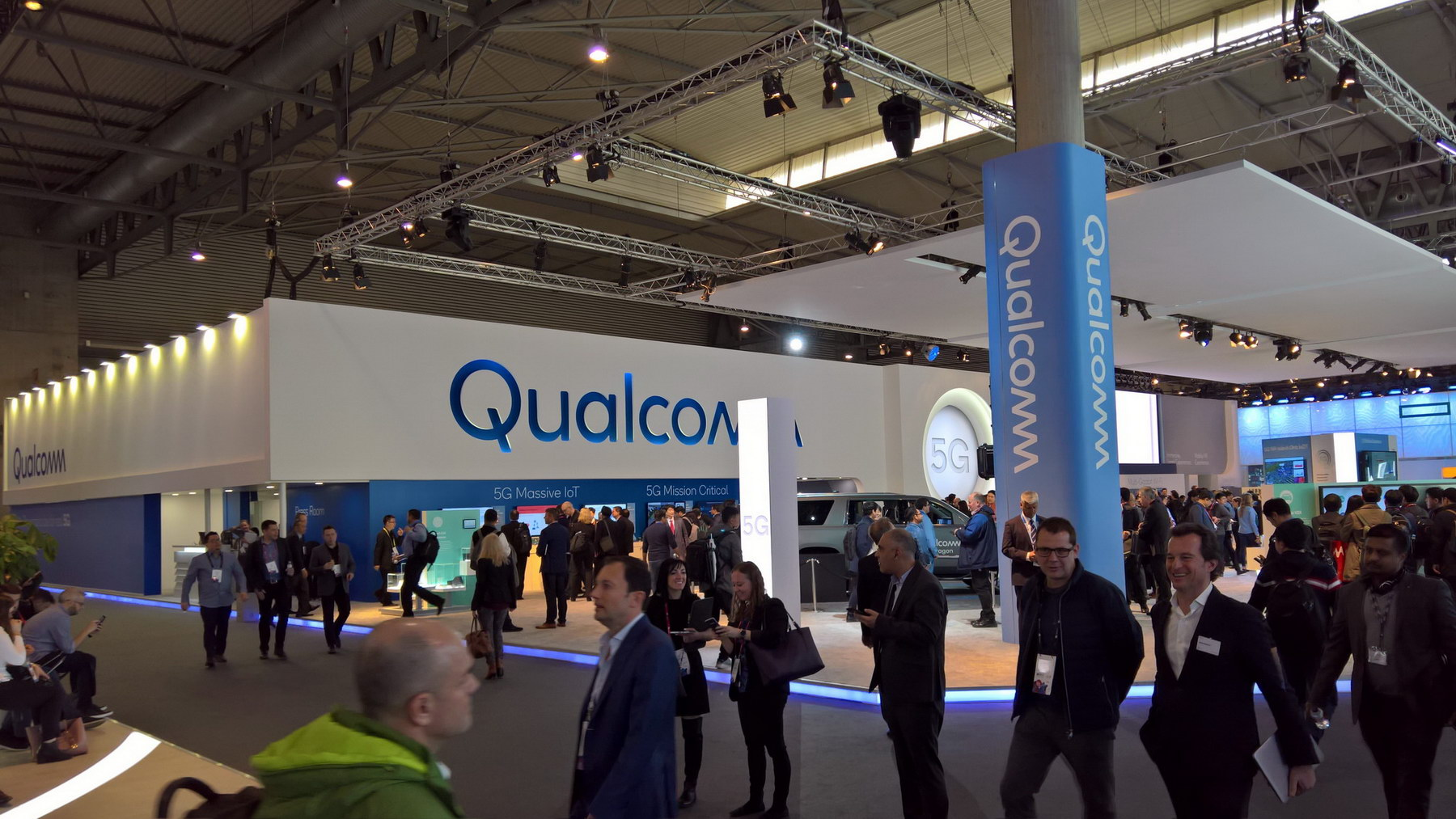 stand Qualcomm MWC_2018 Barcelona