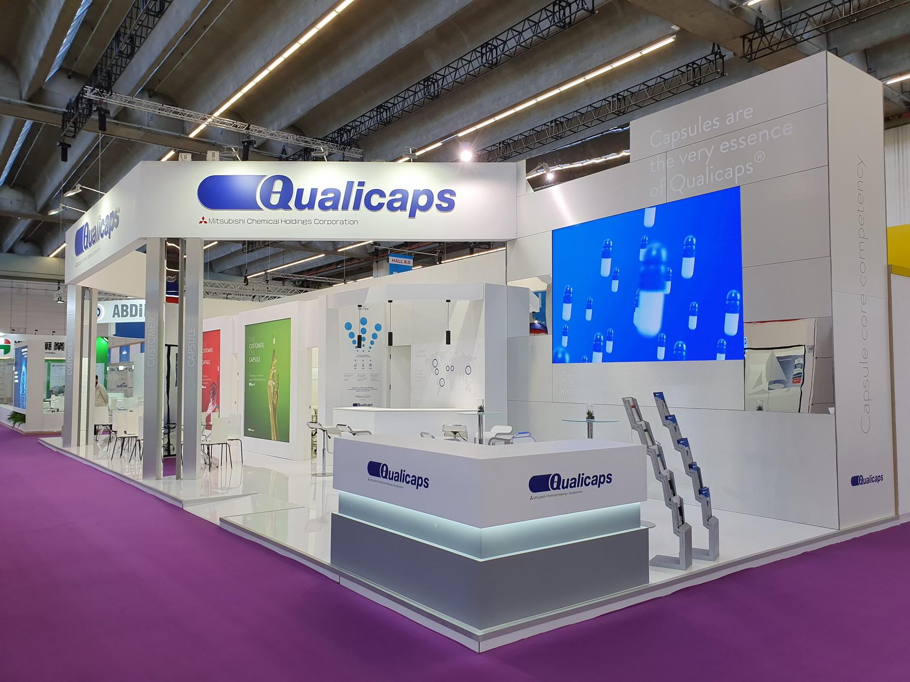 Stand Qualicaps CPHI_2019 Frankfurt
