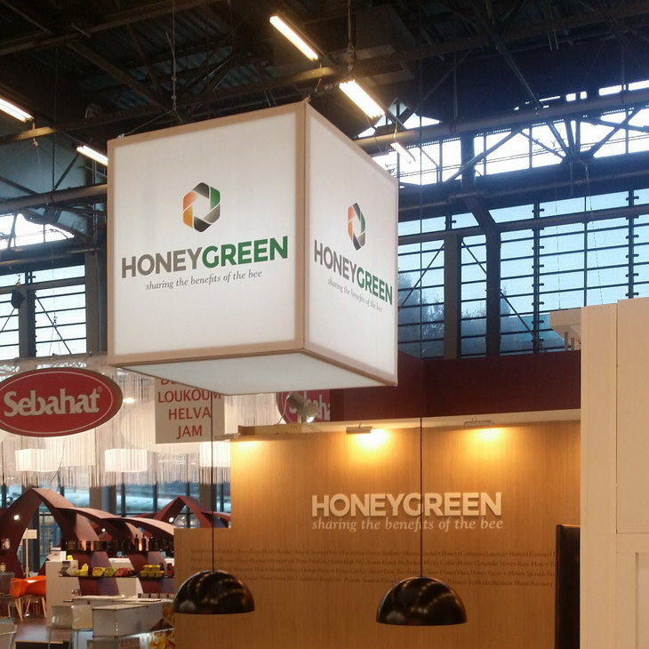 stand HONEY_GREEN ANUGA PARIS